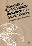 Methods of Sustainability Research in the Social Sciences, , 0857025228
