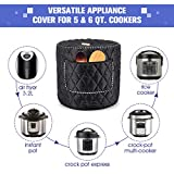 WERSEA Appliance Cover for 6 Quart Instant Pot