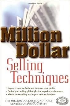 Book Million Dollar Selling Techniques (Million Dollar Round Table)