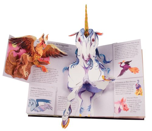 Encyclopedia Mythologica: Fairies and Magical Creatures Pop-Up by Candlewick Press (Image #2)
