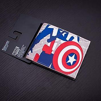 DC Marvel Comics - Cartera de PVC para Hombre (8,9 cm), diseño de Batman: Amazon.es: Hogar
