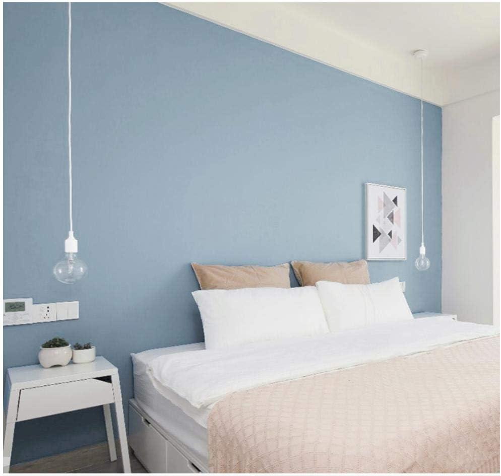 Papel pintado no tejido Simplicidad moderna Color liso 0.53X 9.5 M Azul-9.51 Papeles Muro Decoraci/ón de Pared para TV Tel/ón de Fondo Dormitorio Hotel Restaurante Decoraci/ón hogare/ña