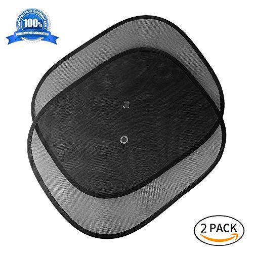 Wingogo Car sunshade side,2 pack for 17x14 Cling Sunshade For Car Windows - Sun,UV protection,privacy windows shade cling