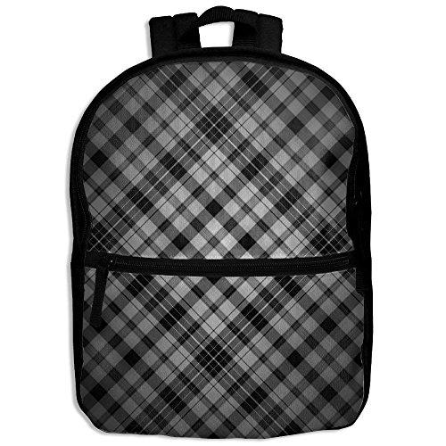 Unisex Dark Pattern Shoulder School Bag For College Travel Backpack Designed