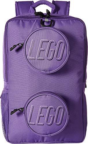 LEGO Unisex Brick Backpack Purple One Size