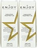 Cheap ENJOY Hair and Skin Treatment Oil (SET of Two 3.4 OZ) – Intensive Moisturizing Formula