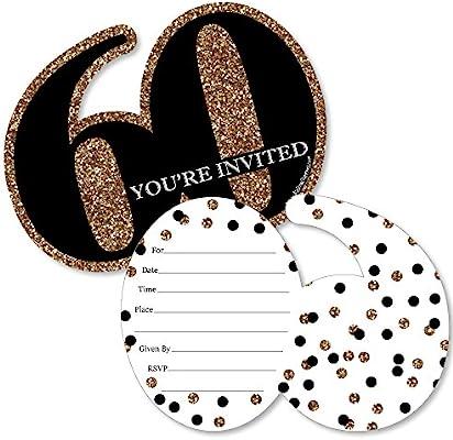 Tarjetas de invitación de cumpleaños con sobres, diseño de ...