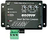 Magnum Energy ME-SBC Smart Battery Combiner, Auto-Detect 12 or 24 VDC, Transfers up to 25 Amps
