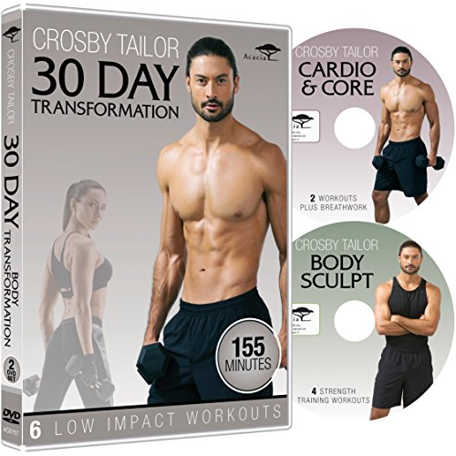 Crosby Tailor - 30 Day Transformation (2 DVD Fitness Workout Set + Calendar)