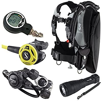 Scubapro LiteHawk BCD for Travel Scuba Gear Package