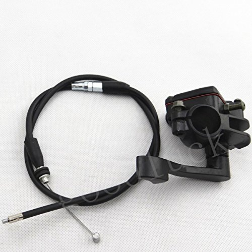 Thumb Cable Throttle (Quad Pit Bike ATV Thumb Throttle Holder + Throttle Cable Assembly)