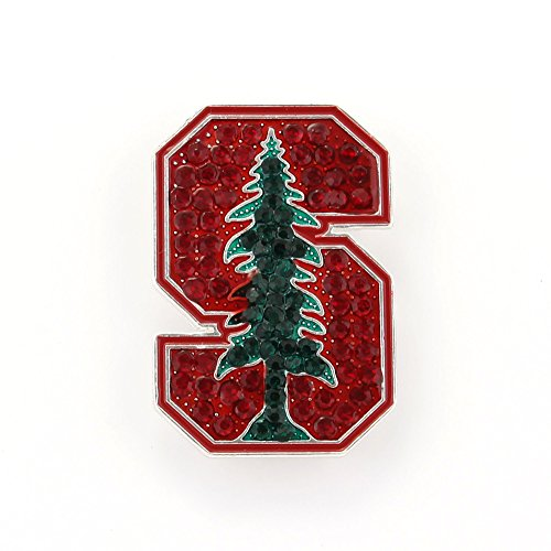 Stanford Crystal Logo Pin - Stanford Tree Costume