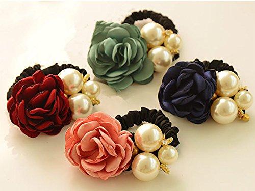 ponytail holder camellia
