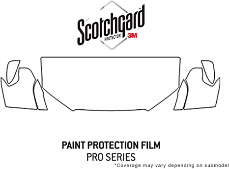 3M Scotchgard Paint Protection Film Clear Pre-Cut 2018 2019 Ford Explorer Sport