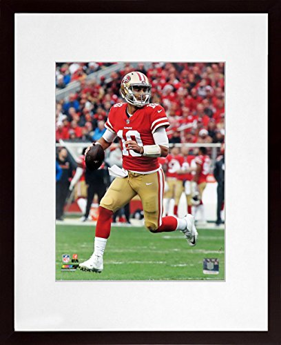 "SF 49ers Jimmy Garoppolo ""Roll-Out"" 11x14 Photograph (SGA Value Series)"