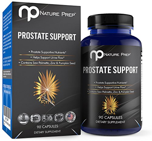 NaturePrep Saw Palmetto Extract Prostate and Hair Loss Supplement, 90 Capsules