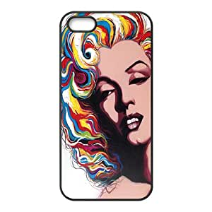 Malcolm Marilyn colour Case Cover For iPhone 5S Case