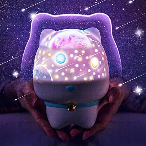 Amazon.com: Luces nocturnas para niños, proyector de ...