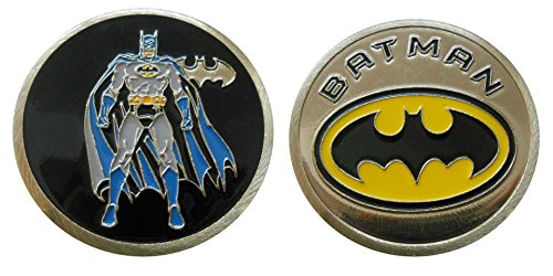 Batman - Character Challenge Coin / Logo Poker / Lucky Chip by Coin and Coins