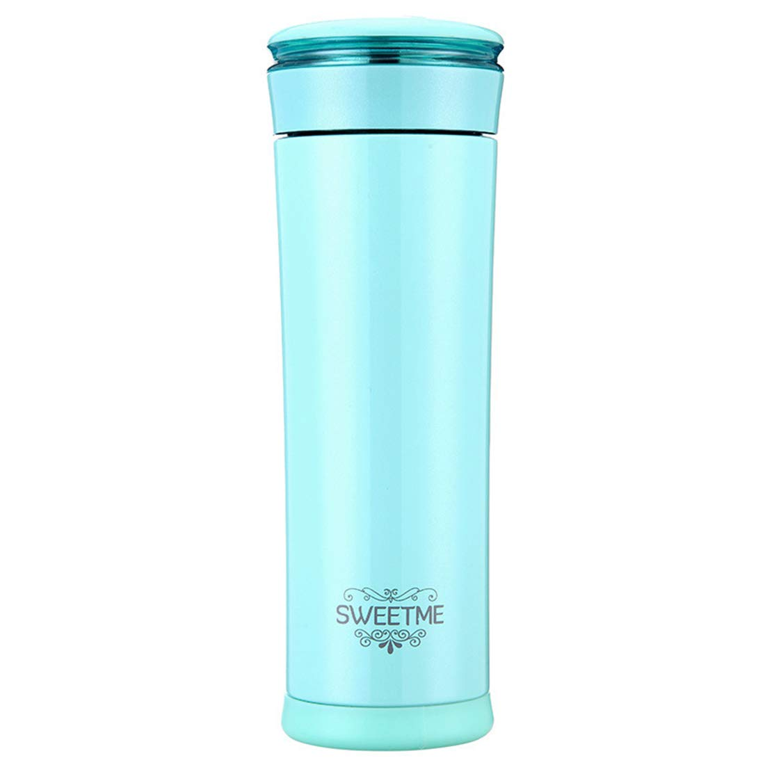 Yhui Stainless Steel Cup 2019 Vacuum Cup Portable Outdoor Leak Proof Made from Stainless Steel Sports Cup/Pink (Color : Green, Size : 500ml) by Yhui