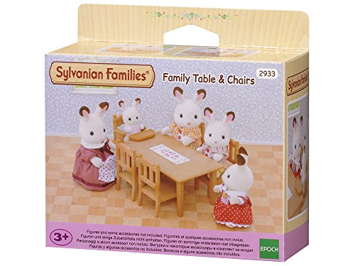 Sylvanian Families 2933 Esstisch Set Braun