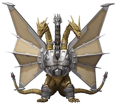 Bandai Tamashii Nations SH MonsterArts Mecha King Ghidorah Godzilla Action Figure by Bandai