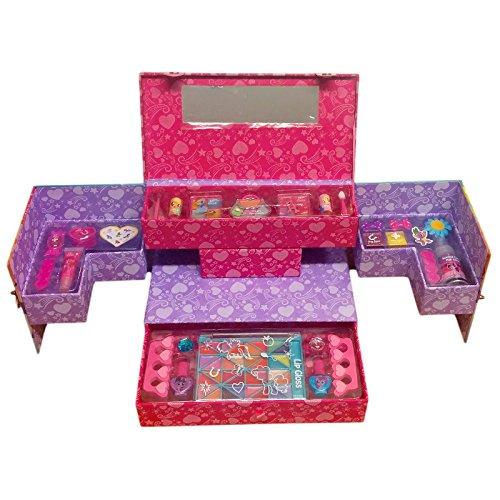 My Little Pony Juego de maquillaje estación belleza funda para niños niñas: Amazon.es: Juguetes y juegos
