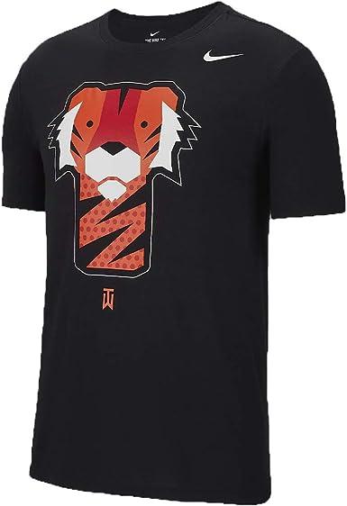 asiático Centelleo Birmania  Nike Golf TW Tiger Woods Frank Graphic - Camiseta - Negro - Large:  Amazon.es: Ropa y accesorios