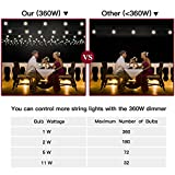 Twowings 360W Max Wireless Remote Dimmer Outdoor