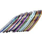 Luckyrao 30 Colors Multicolor Mixed Colors Rolls