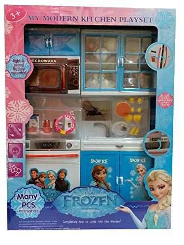 Buy Vaishnava Plastic Disney Frozen Kitchen Set For Girls
