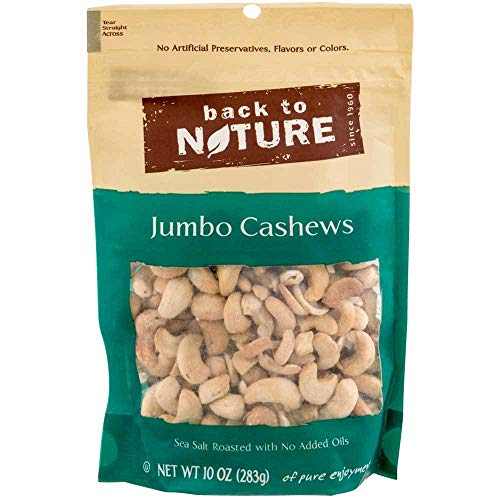 back to nature cashews sea salt - 1