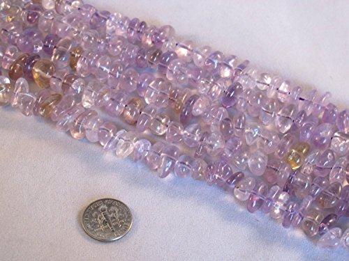 Quartz Tube Beads - 6