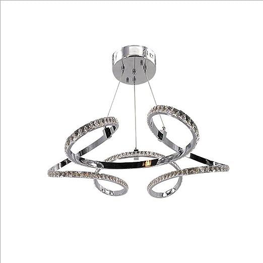 CIFFOST ® moderna simple LED lámpara de cristal, perfilado ...