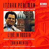 Itzhak Perlman - Tchaikovsky Violin Concerto ~ Live in Russia / Mehta
