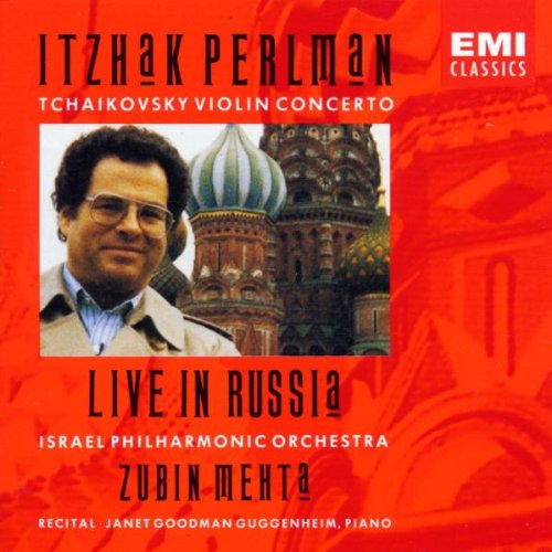 Itzhak Perlman - Tchaikovsky Violin Concerto ~ Live in Russia / Mehta by EMI Classics