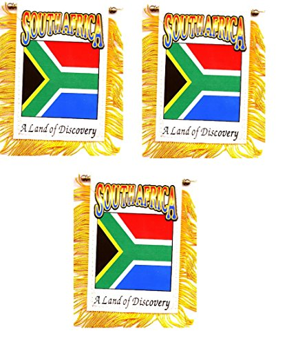 PACK OF 3!! South Africa 3 1/2