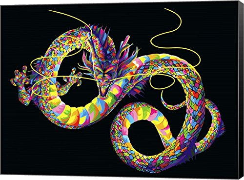 Chinese Dragon by Bob Weer Canvas Art Wall Picture, Museum