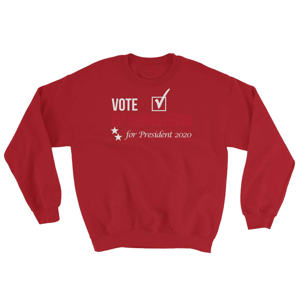 Sweatshirt Red STFND Vote Any Rational Person