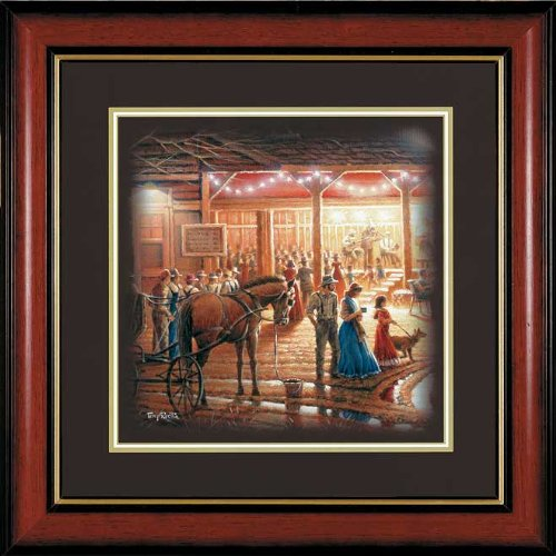 Harvest Moon Ball Framed Companion Print by Terry Redlin
