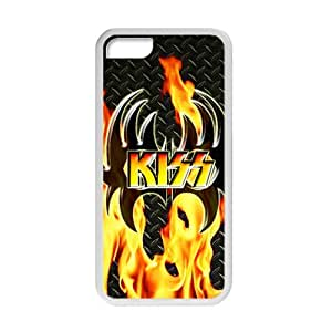 Rockband Modern Fashion Guitar hero and rock legend Phone Case for iPhone 5C(TPU)
