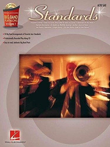Standards - Alto Sax: Big Band Play-Along Volume 7