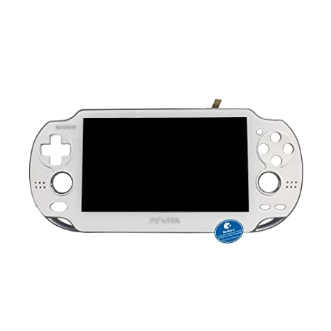 Original WHITE LCD Display Touch Glass Screen Panel Digitizer Assembly with  Frame Combo Replacement for Playstation PS Vita PSV 1000 1001 PCH-1001