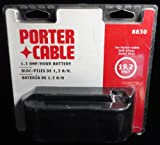 PORTER-CABLE 8830 19.2-Volt 1.3 Amp Hour NiCd Slide Style Battery