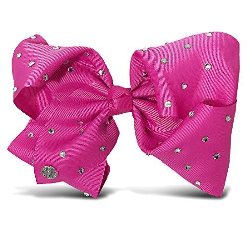 JoJo Siwa Large Cheer Hair Bow (Berry)]()