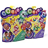 Oonies S1 Theme Refill Packs - Jungle WildLife and Monster Mania Bundle