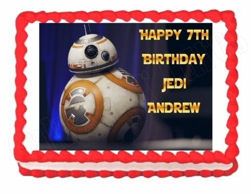 Star-Wars-The-Force-Awakens-BB-8-party-edible-cake-topper-frosting-sheet