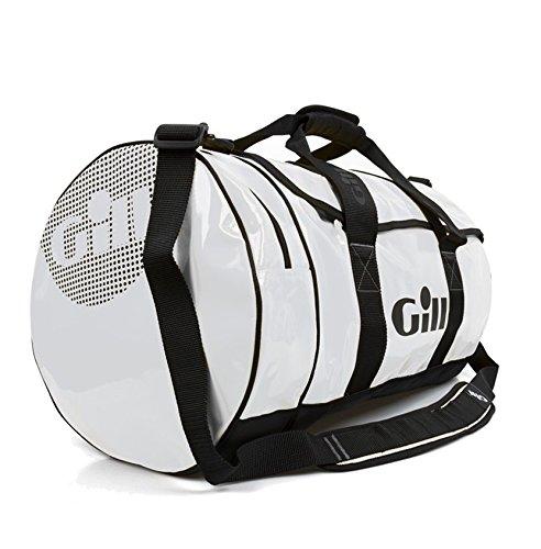 Gill 60L Tarp Barrel Bag - White
