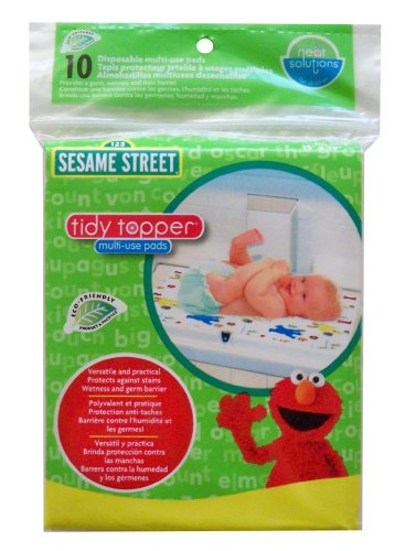 Neat Solutions Sesame Street Multi-Use Pads, 10 Count
