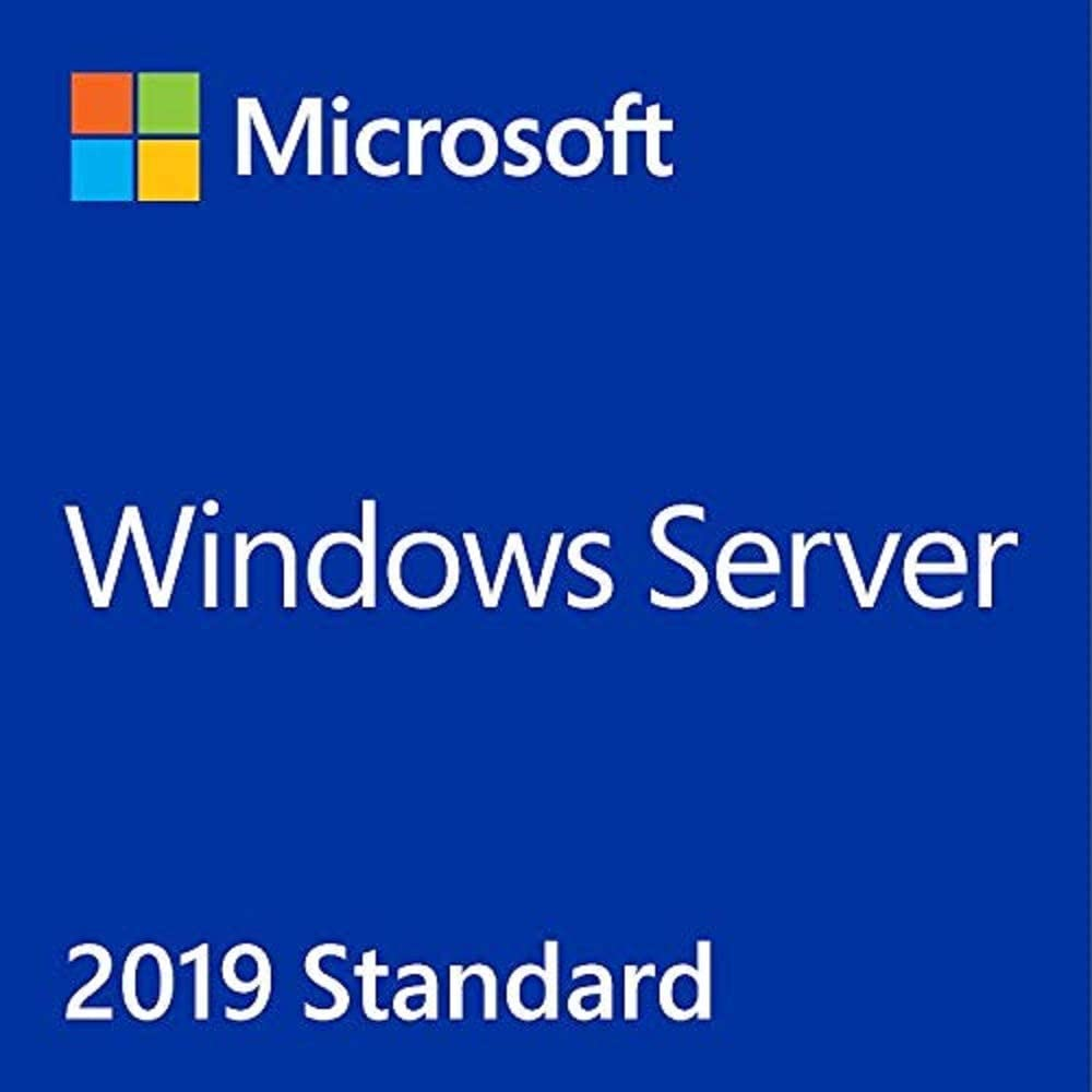 Windows Server 2019 Standard OEM English DVD 64 Bit | 16 Core Base License| Windows 10 Server